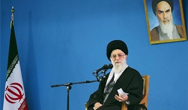 Photo of Imam Ali Khamenei Underlines Iranian Nation's Unity in Hard Days