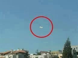 The Syrian Arab Army downed a Turkish Spy Blimp