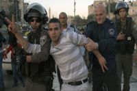 Zionist regime forces attack Palestinian protesters