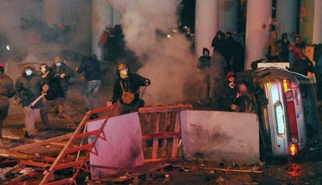 Photo of Exclusive: Zionists create unrest everywhere:'Israeli combat veterans led recent Ukraine riots'