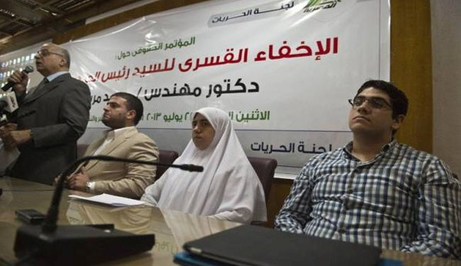 Egypt police arrest Morsi's son on drugs charges