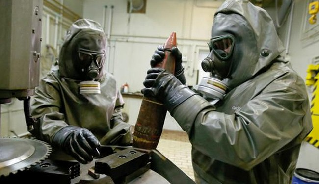 Photo of Syria chemical arms 'could go in a month': Russia