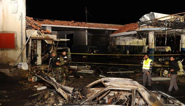Terror bombing kills 4 in Lebanon's Bekaa Valley