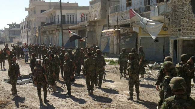 Syrian army inflicts major blows on al-Nusra militants