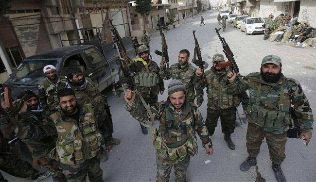 Syrian army hunts down terrorists in Flita