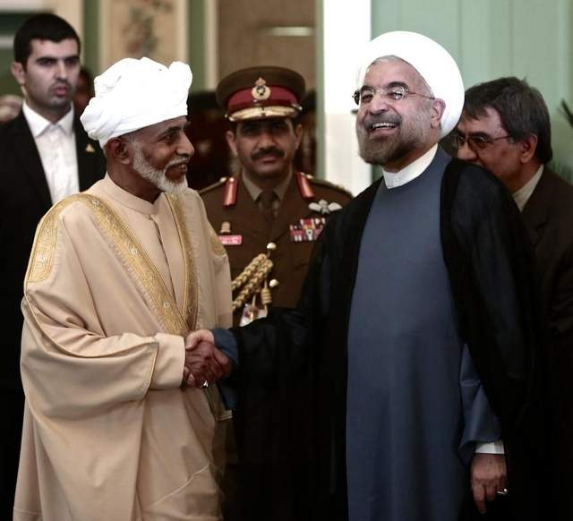"""Photo of Rouhani Terms Iran-Oman Ties """"Example of Good Relations"""""""