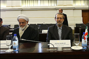 Photo of Larijani: killing Muslims 'genocide' in CAR