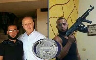 Photo of Photo- Newly appointed Lebanon's Justice Minister Rifi is with terrorists