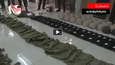 Photo of Video- Military Equipment intended for NATO, chemicals in hands of terrorists in Syria