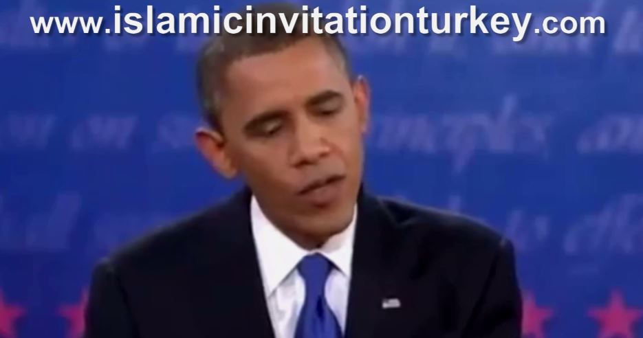 "Photo of Video- Obama: ""We attack Syria because its being ONLY Arab ally of Iran…"""