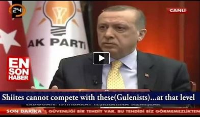 Photo of Video- Turkish PM Erdogan insulting Shia in his camparison.