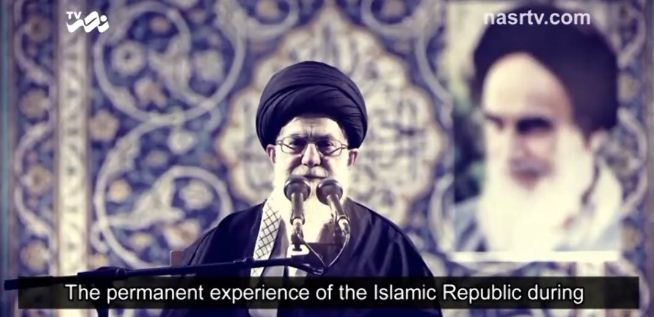 """Photo of Video- Imam Ali Khamenei: """"The only way to get rid of enemies…"""""""
