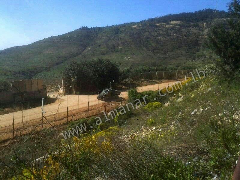 Photo of Unmanned israeli Vehicle Sent to Lebanon Border
