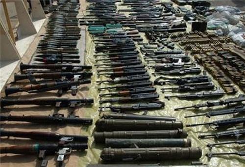 Photo of Al-Qaeda's Heavy Arms Depot Discovered in Jordan