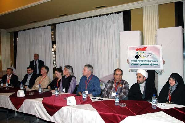 Photo of International Peace Activists Group delegation visits sites of terrorist attacks in Homs