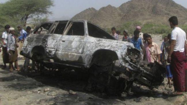 Photo of Great Satan US killer drone targets south Yemen