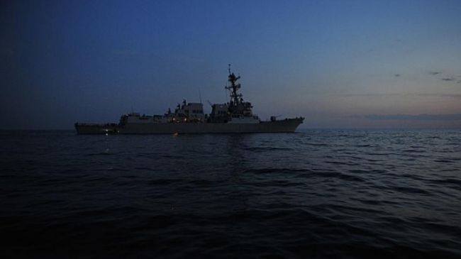 Photo of US warship moving towards Black Sea amid tensions with Russia