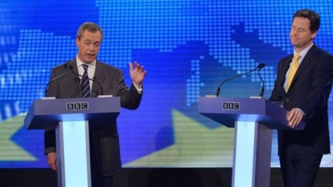 Photo of UK top politicians clash over EU, Ukraine