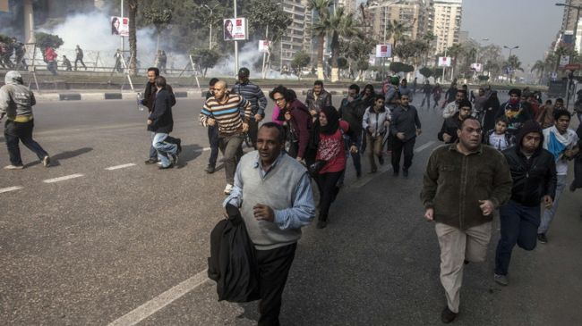 Photo of Egypt police injure several in Giza funeral