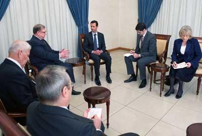 Assad_Russian_delegation