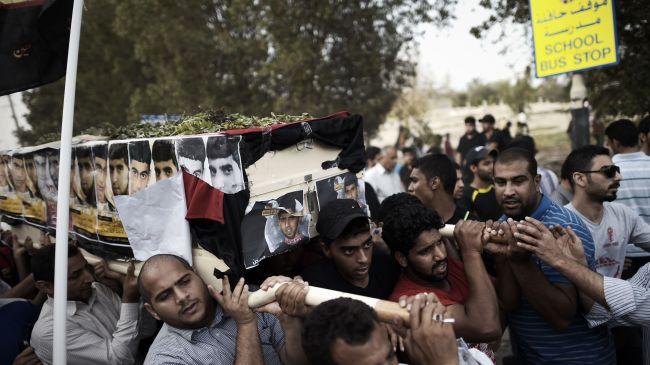 Photo of Brutal Bahraini forces attack anti-regime demonstrators