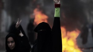 Bahraini protesters voice support for political prisoners