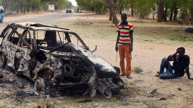 Bus station blast kills 35 near Nigerian capital