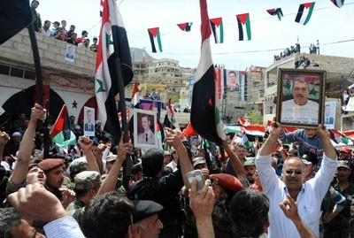 Photo of Citizens of Jabal al-Sheikh Affirm support to Army against terrorism