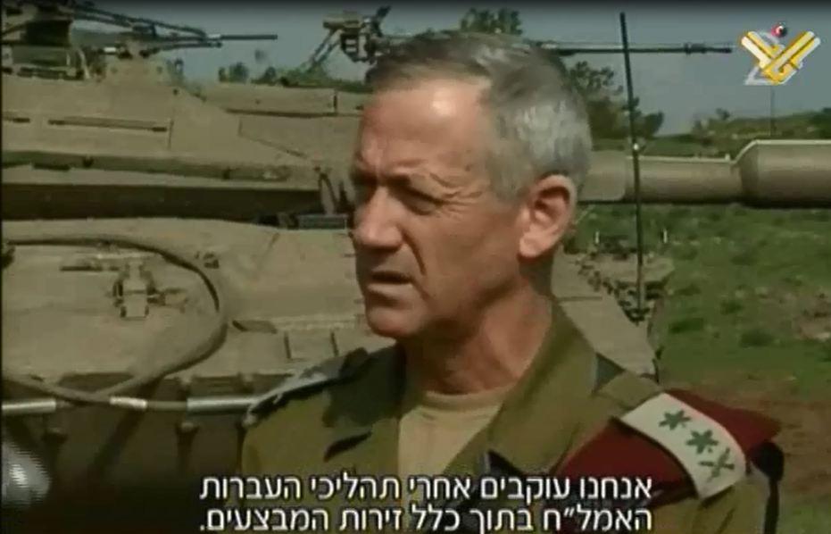 Photo of zionist Cmdr. Gantz: Entire 'Israel' under Hezbollah Threat