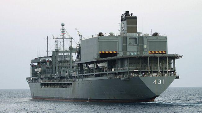 Iran naval flotilla docks at Port of Djibouti