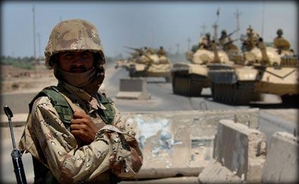 Photo of Iraq Forces Kill Dozens of Militants near Baghdad