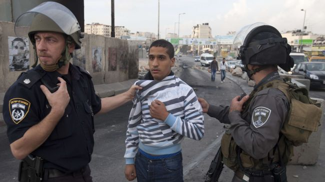 Israeli forces arrest nearly 50 Palestinians