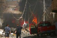 Multiple bomb blasts kill 28 in Iraqi capital