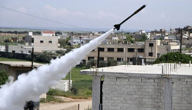 Nusra terrorists use poison gas in Hama: Syria TV