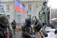 Pro-Russians seize government buildings in Horlivka