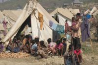 Photo of 'Rohingya Muslims in dire conditions'