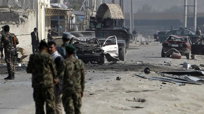 Photo of Several killed as blast hits government compound in Kabul