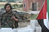 Syria army gains ground near capital