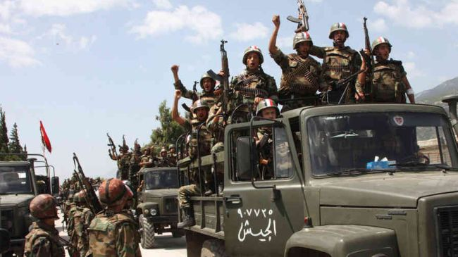 Syrian troops secure three more towns in Qalamoun