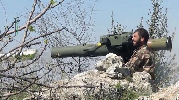 Photo of Video shows U.S-Made anti-Tank Weapons in Hands of terrorists in Syria