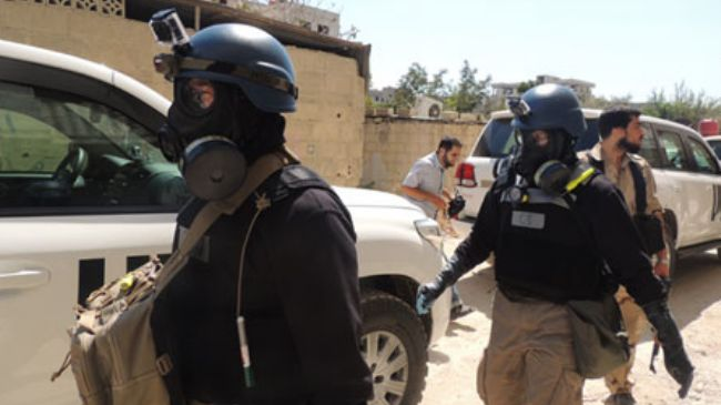 US claims toxic chemical used in Syria this month