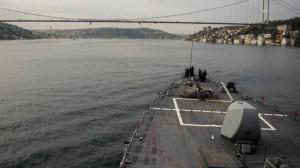 US destroyer leaves Black Sea after exercises