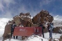 Photo of World highest library opened on Iranˈs Damavand peak