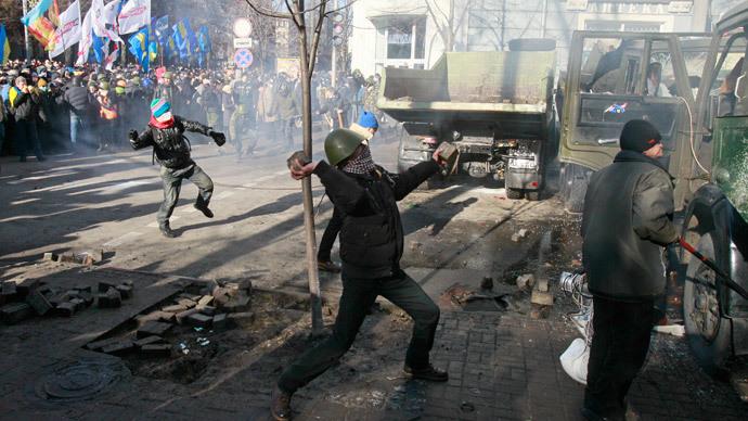 Yanukovych, Russian agents accused of Kiev carnage