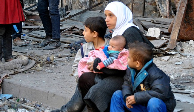 Yarmouk struggles to survive, 10th day of no food package