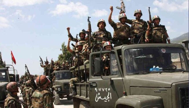 Syria army intensifies push against terror groups