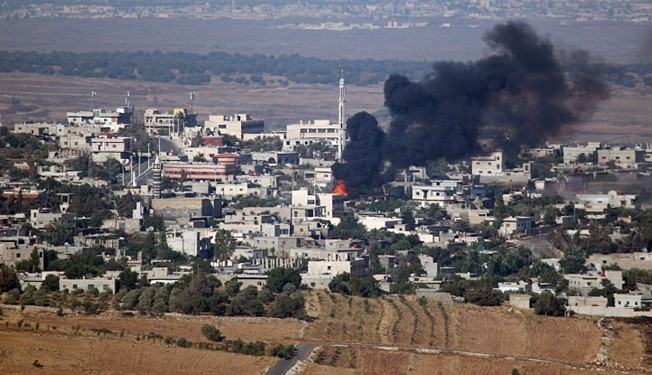 US asks Israel to hit Syrians fighting CIA-trained militia