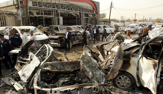 University attacked in Baghdad ahead of parliamentary election