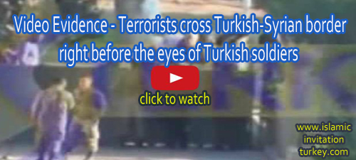 Photo of Video shows Al-Qaeda cross Turkish-Syrian border right before the eyes of Turkish soldiers