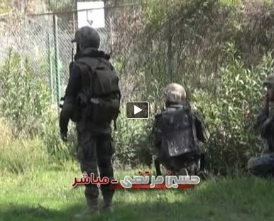Photo of Video- Live from the conduct of military operations in Al Maliha-East ghouta